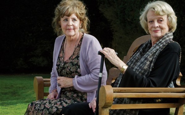 Pauline Collins and Maggie Smith in Quartet. Photo credit: Tim Robey