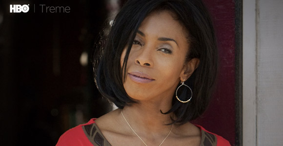 Khandi Alexander, currently on TREME.